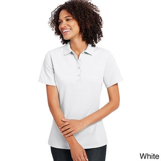 Hanes Women's X-Temp Cotton Blend Polo
