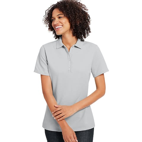 Hanes Women's X-Temp Cotton Blend Polo