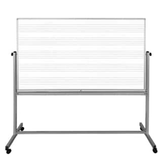 Luxor MB7248MW 72 x48 Mobile Music/Whiteboard