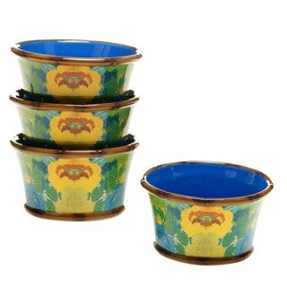Tracy Porter for Poetic Wanderlust 'Magpie' 5.5-inch Ice Cream Bowls (Pack of 4)
