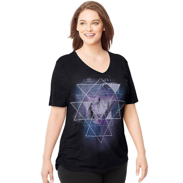 6ade8e5cc13 Hanes Women  x27 s Just My Size Hazy Framework Cotton-bend Plus-. Click to  Zoom