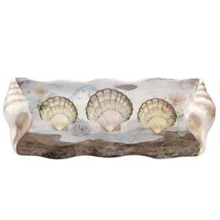 Certified International 16-inch 'Coastal View' Rectangular Platter