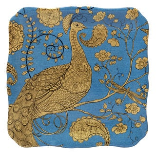 Certified International 12.5-inch 'Exotic Garden' Square Platter