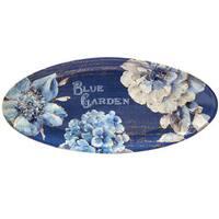 Certified International Indigold Oval Platter