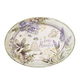 Certified International 16-inch 'Herbes de Provence' Oval Platter