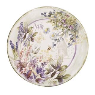 Certified International 13-inch 'Herbes de Provence' Round Platter
