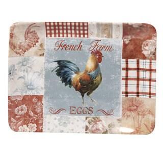 Certified International 16-inch 'Farm House' Rectangular Platter