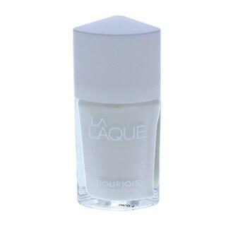 Bourjois La Laque 01 White Spirit Nail Polish
