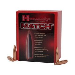 "Hornady 30 Caliber Bullets .308"" 195 Gr BTHP (Per 100)"