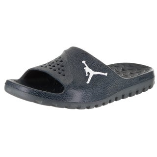 Nike Men's Jordan Super Fly Team Slide 2 Blue Synthetic Leather Sandals