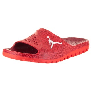 Nike Jordan Men's Jordan Super.Fly Team Slide 2 Grpc Red Synthetic Leather Sandals