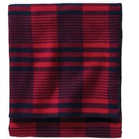 Pendleton Machine Washable Red Cardinal Plaid Blanket