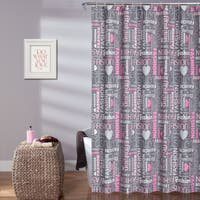 Lush Decor Fashion Shower Curtain