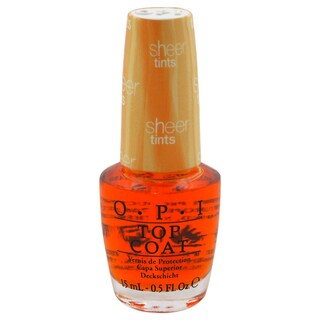OPI Top Coat I'm Never Amberrassed