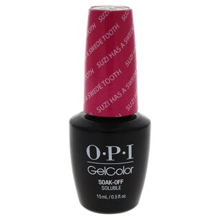 OPI GelColor Soak-Off Gel Lacquer Suzi Has A Swede Tooth
