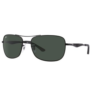 Ray-Ban RB3515 006/71 Black Frame Green Classic 58m Lens Sunglasses