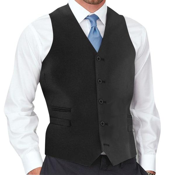 Affinity Apparel Men's 5-button Vest. Opens flyout.