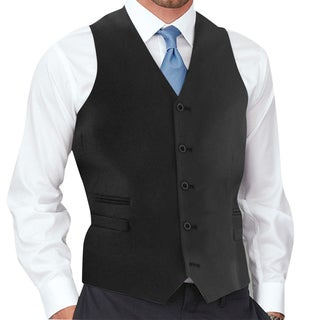 Affinity Apparel Men's 5-button Vest (More options available)