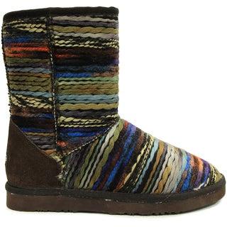 Lamo Women's Juarez Multicolor Suede Mid-calf Boots