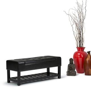 WYNDENHALL Caleb Storage Ottoman Bench