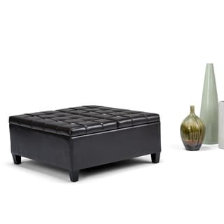 WYNDENHALL Elliot Coffee Table Storage Ottoman