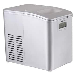 Koolatron Ice Maker - 26 lbs. (Option: Grey)|https://ak1.ostkcdn.com/images/products/14327932/P20907285.jpg?impolicy=medium
