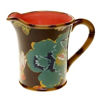 Tracy Porter for Poetic Wanderlust 'Eden Ranch' Earthenware 3.5-quart Pitcher
