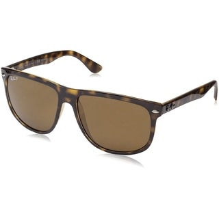 Ray-Ban RB4147 710/57 Tortoise Frame Polarized Brown 60mm Lens Sunglasses