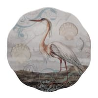 Certified International Coastal View Ceramic 11-inch Dinner Plates (Pack of 4)