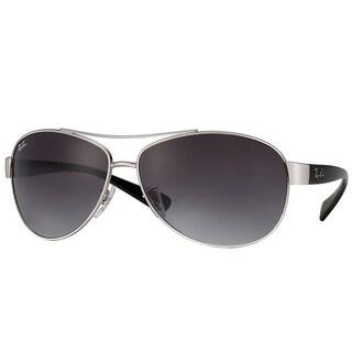 Ray-Ban RB3386 003/8G Silver/Black Frame Grey Gradient 67mm Lens Sunglasses