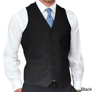 Affinity Apparel Men's Solid-colored Five-button Vest (More options available)