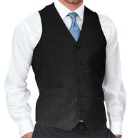 Affinity Apparel Men's Solid-colored Five-button Vest