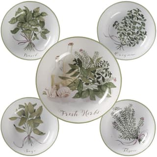 Certified International Fresh Herbs Pasta Bowls (Pack of 5)|https://ak1.ostkcdn.com/images/products/14327961/P20907322.jpg?impolicy=medium
