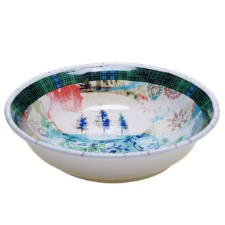 Tracy Porter for Poetic Wanderlust 'Folklore Holiday' Earthenware 13-inch Serving/Pasta Bowl