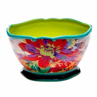 Tracy Porter for Poetic Wanderlust 'Scotch Moss' 10-inch Deep Bowl