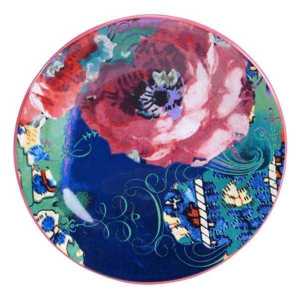 Tracy Porter for Poetic Wanderlust 'Reverie' Earthenware 8.75-inch Dessert Plate (Set of 4)