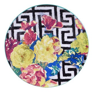 Tracy Porter for Poetic Wanderlust 'Reverie' Multicolored Earthenware 11-inch Dinner Plates (Pack of 4)