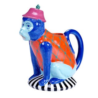 Tracy Porter for Poetic Wanderlust 'Reverie' 1.75-quart 3-D Monkey Pitcher