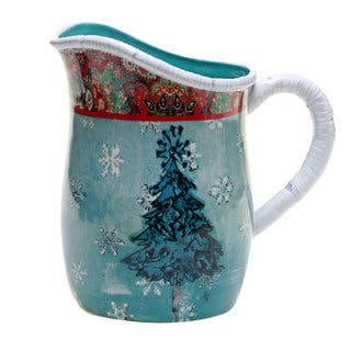 Tracy Porter for Poetic Wanderlust 'Folklore Holiday' 2.75-quart Pitcher|https://ak1.ostkcdn.com/images/products/14328019/P20907360.jpg?impolicy=medium