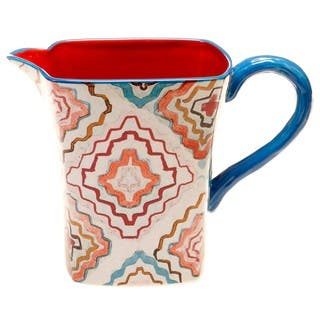 Tracy Porter for Poetic Wanderlust 'French Meadows' 3-quart Pitcher|https://ak1.ostkcdn.com/images/products/14328020/P20907361.jpg?impolicy=medium