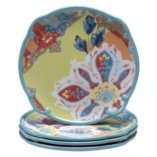 Tracy Porter for Poetic Wanderlust 'Scotch Moss' 10.75-inch Dinner Plates (Set of 4)