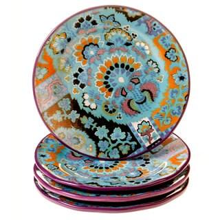 Tracy Porter for Poetic Wanderlust 'Rose Boheme' 8.5-inch Dessert Plates (Set of 4)