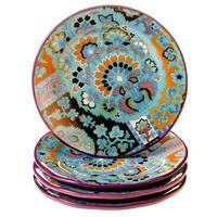 Tracy Porter for Poetic Wanderlust 'Rose Boheme' 8.5-inch Dessert Plates (Set of 4)