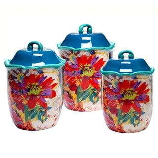 Tracy Porter for Poetic Wanderlust 'Scotch Moss' Canisters (Set of 3)