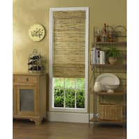 Radiance Kona Natural Bamboo Roman Shade