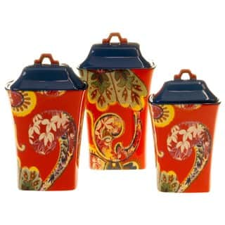 Tracy Porter for Poetic Wanderlust 'French Meadows' Canisters (Set of 3) https://ak1.ostkcdn.com/images/products/14328070/P20907415.jpg?impolicy=medium