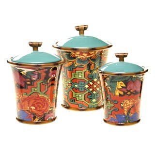 Tracy Porter for Poetic Wanderlust 'Eden Ranch' Canisters (Set of 3) https://ak1.ostkcdn.com/images/products/14328071/P20907416.jpg?impolicy=medium