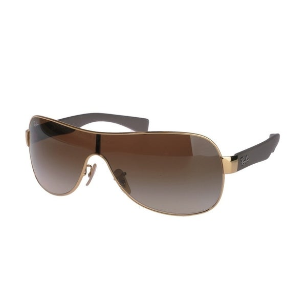 2eebd68cfc Ray-Ban RB3471 001 13 Gold Brown Frame Brown Gradient 32mm Single Lens