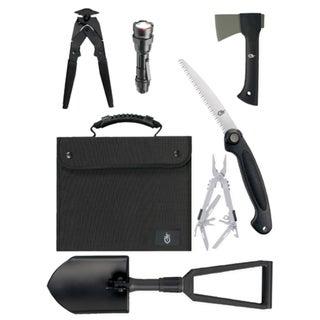 Gerber Blades Offroad Survival Kit/SUV Kit, Black Nylon Case