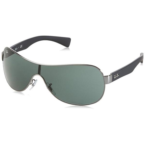 913cb6e26a Ray-Ban RB3471 004 71 Gunmetal Black Frame Green Classic 32mm Lens  Sunglasses